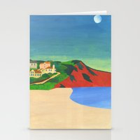 Morning Moon Stationery Cards