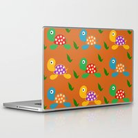 turtle Laptop & iPad Skins featuring turtle by vitamin