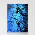 Crows: Attempted Murder -Blue Skies Stationery Cards