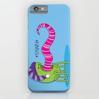 iPhone & iPod Case featuring Even Monsters Get Sleepy by rollerpimp