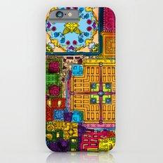 Colourful collage iPhone 6 Slim Case