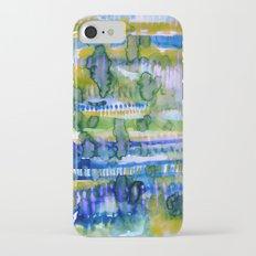 Splatter Ochre Slim Case iPhone 7