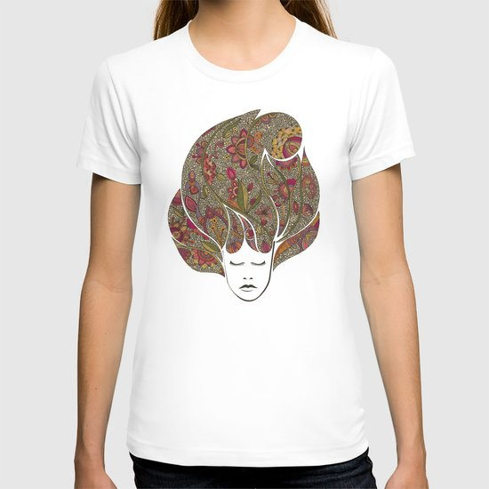 Dreaming with flowers T-shirt