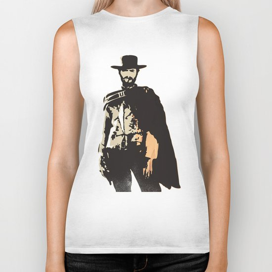 """""""The Man With No Name"""" is a Badass Biker Tank"""