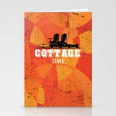 Cottage Time Stationery Cards