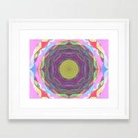 Circus Tunnel Framed Art Print