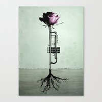 Rooted Sound III Canvas Print