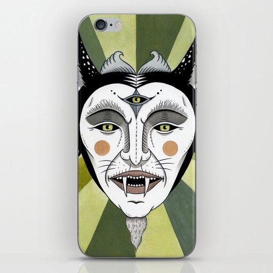 Cat Color Wheel No. 2 iPhone & iPod Skin