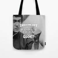 Bruce Says: Showing Off Tote Bag