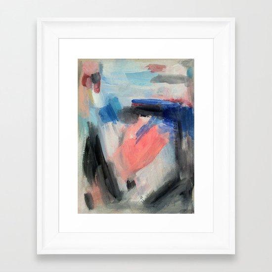 Surfacing Framed Art Print