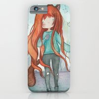 Wolf girl iPhone 6 Slim Case