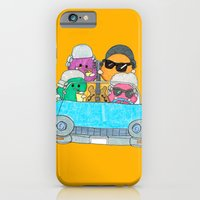 iPhone & iPod Case featuring Holiday Vampire Weekend by Pily Clix