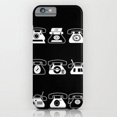 Fifties' Smartphones Black iPhone 6 Slim Case