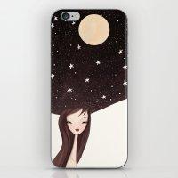 Night Hat iPhone & iPod Skin