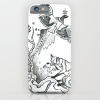 iPhone & iPod Case featuring King Phoenix by Monika Jean