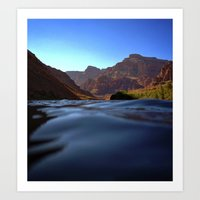 Deep In The Grand Canyon Art Print