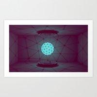 Orb [Style Frame] Art Print
