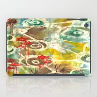 Peeking Trees iPad Case