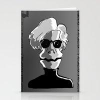 RAPTOR WARHOL Stationery Cards