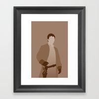 Captain Mal Reynolds, Fi… Framed Art Print
