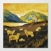 The Good Shepherd, Lake Tekapo Canvas Print