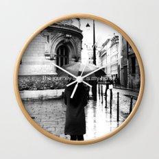 Esperantos Quotes #5 Wall Clock
