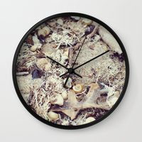 SandShells Wall Clock