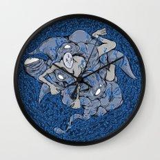 In deep Wall Clock