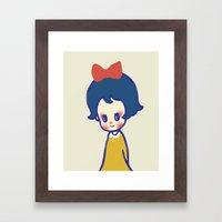 A Little Girl  Framed Art Print