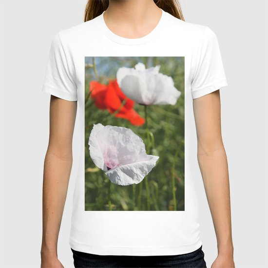 White Poppy T-shirt