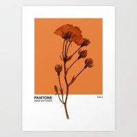 PANTONE 1385 U Art Print