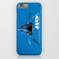 Jackie Stewart, Tyrrell 005, 1973 iPhone 6 Slim Case