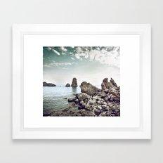 Polyphemus bay Framed Art Print