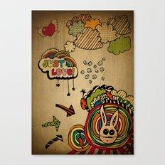 Just Love! Canvas Print