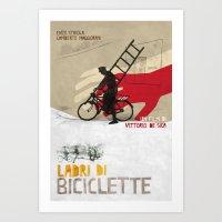Ladri Di Biciclette II Art Print