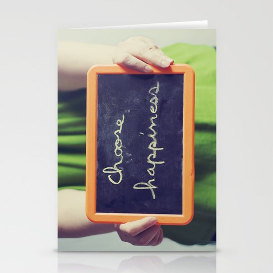 Choose Happiness Stationery Card