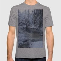 St-André River Mens Fitted Tee Athletic Grey SMALL