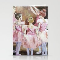 Before The Dance - Balle… Stationery Cards