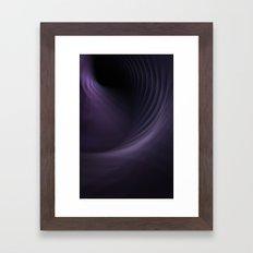 Smokey Curves Framed Art Print