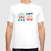 Herra Mens Fitted Tee White SMALL