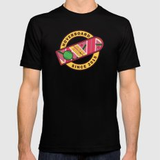 Hoverboard - Back to the future Mens Fitted Tee Black SMALL