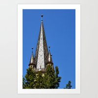 Evangelical Cathedral Be… Art Print