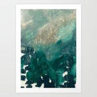 Oceanic Plankton 1 Art Print