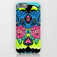 iPhone & iPod Case featuring Dragon Skull by kzeng Jiang
