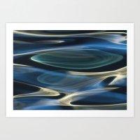 Water / H2O #2  (water A… Art Print