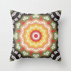 Abstract Alphabet Design… Throw Pillow