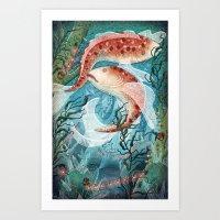 River Ramblers Art Print