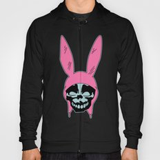 Grey Rabbit/Pink Ears Hoody