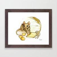 The Harvest Framed Art Print