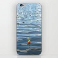 Fishing Bobber In Water … iPhone & iPod Skin